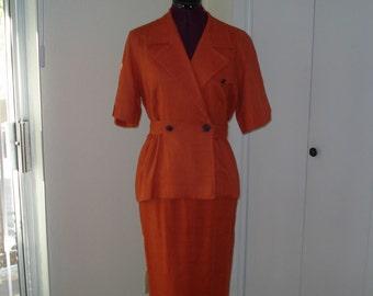 Vintage Liz Claiborne 2 piece dress Size 6P