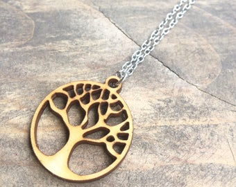 Tree of Life necklace - REVERSIBLE