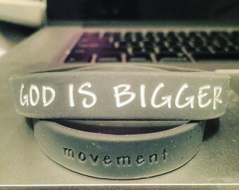God is Bigger Movement Wristbands (Adult & Youth)