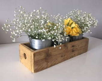 Handcrafted Flower Box