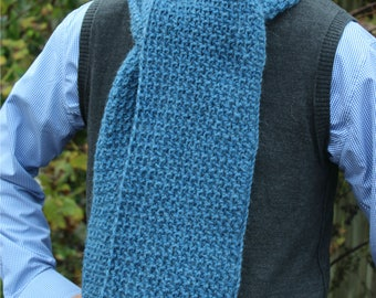 Download Now - CROCHET PATTERN Gilbert Scarf - Make to Any Size - Pattern PDF