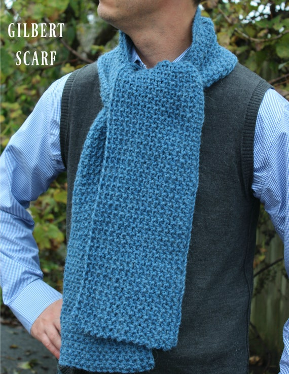 Download Now Crochet Pattern Gilbert Scarf Make To Any