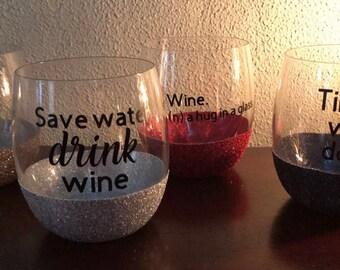 Set of 4 Wine glasses