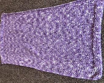 Lavendar Baby Blanket