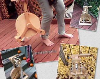 Spinolution Pollywog spinning wheel in stock  Gold Whorl : Saorisantacruz