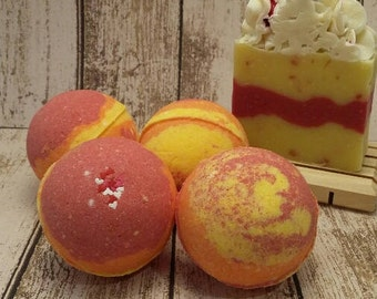 Bath Bomb/BONFIRE BLISS/Bath Fizzy/Bath Bombs/bath bomb set/bath bomb gift set/bath bomb favors/mother's day gift/bath fizzy/gifts for her