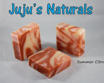 Summer Citrus - Handmade Soap