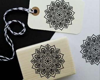 Mandala Rubber Stamp  -1921290118-