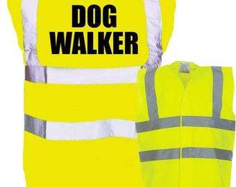 Dog Walker Hi Viz Safety Vest Visibility Dog Walker Gift Dog Sitter Dog Walking Pet Sitter Dog Trainer Dog Sitter Gift