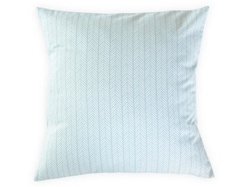 Gray Herringbone Pillow Cover - Modern Pillow Cover - Neutral Nursery Pillow -  Gray Throw Pillow