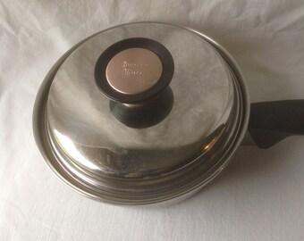 Vintage Duncan Hines Saucepan Vintage Stainless Steel Cookware