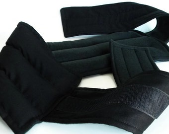 Heating Pad for Back Pain, Lower Lumbar Wrap, Hot Cold Belt Therapy, Best Rice Pack for Spine, Muscle Ache Cramps