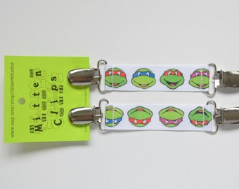 One Size Mitten Clips Toddler to Adult - Teenage Mutant Ninja Turtles - TMNT