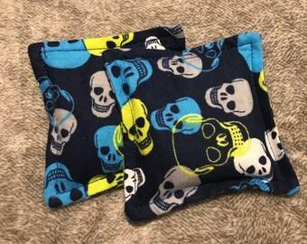 Microwave hand warmers/booboo bag - Skulls