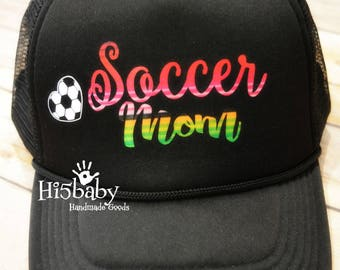 Sarape Soccer Mom Mesh Trucker Hat