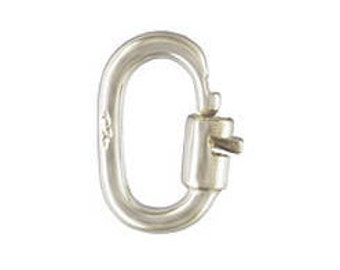 Sterling Silver Link-Lock 5.5mm 925 Sterling Silver British Made #s6