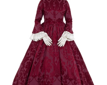 Lady Anne Civil War Era Victorian Dress