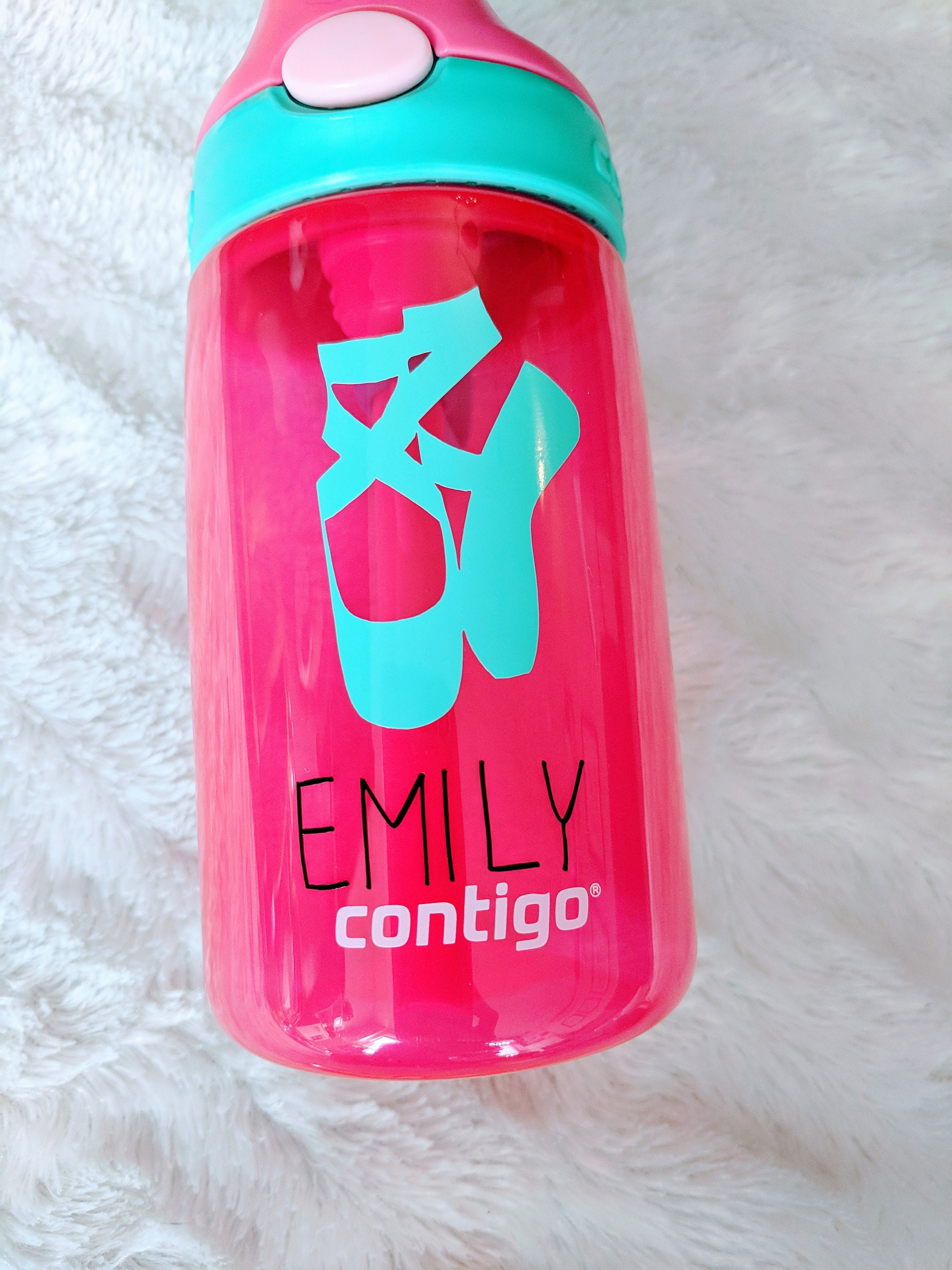 Dance Water Bottle DIY Water Bottle Stickers Ballet Shoes