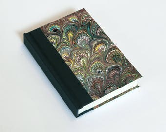 "Sketchbook 4x6"" with motifs of marbled papers - 26"