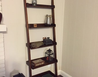 Ladder Shelf / Leaning Book Shelf