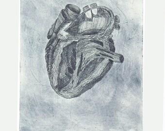 Blue Heart-ed