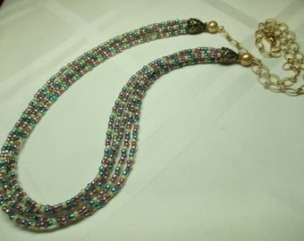 Multi Strand Necklace 2