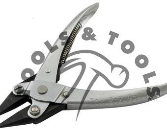 Parallel Action Chain Nose Pliers, Jewelry Beading Tools Smooth Jaws