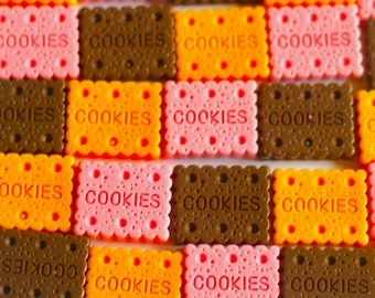 Biscuit Cookie Cabochons, Biscuit Cabochons, Cookie Cabochons, Kawaii Cabochons, Dessert Cabochons, Cute Cabochons, Cabochons, Cheap Cabs