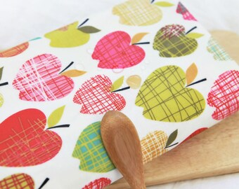 Apples Laminated Cotton Fabric By The Yard