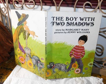 The Boy With Two Shadows, By Margaret Mahy, Vintage Children's Book, Vintage Book,:)s*