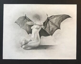 Bat Winged Woman