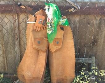 Vintage Leather Gene Autry Cowboy Costume