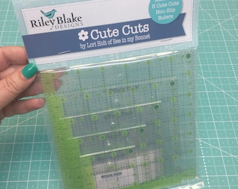 Cute Cuts Rulers - Square Set of 5 by Lori Holt of Bee in my Bonnet