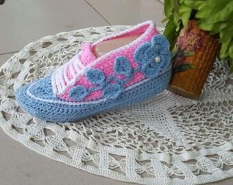 Flower bootie crochet pattern