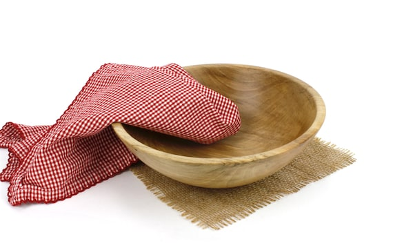 Wooden Sycamore Bowl, Wooden Serving Dish, Pasta Bowl