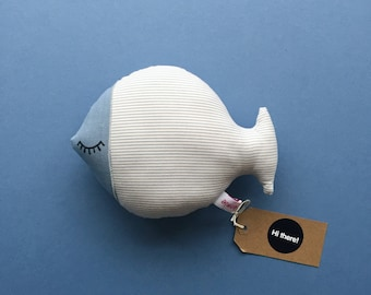 The Fat Fish. Handmade soft toy