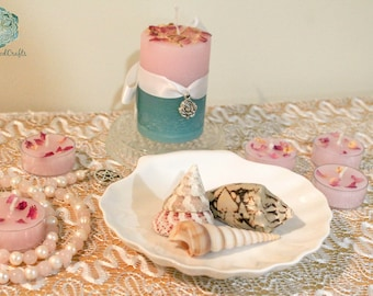 Aphrodite Worship Kit - Venus Goddess - Love Relationships - Prayer Beads - Candle Gemstone - Pagan Wicca  - Wiccan Witch - Shrine Altar