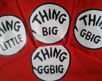THING BIG Thing Little 1 Thing Little 2 Thing G Big GG Big Little Sorority Shirts big sister little sister etc.