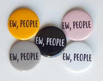 Funny Button Pins