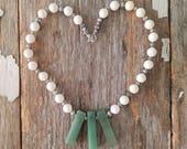 White Swarhovski Pearls B...