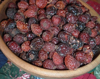 2 Cups Luscious Rose Hips Fixins For Potpourri Candles Crafts Naturals Primitive Lodge