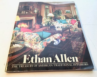 Vintage Furniture Catalog Ethan Allen Traditional Decor. Treasury of American Traditional Interiors.