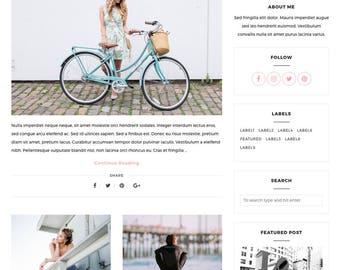 Blogger Template, Blogger Theme, Template Responsive, Minimal, Simple, Grid, Slider, Design, Blogspot - LIVE: www.bit.ly/SimplyTheme