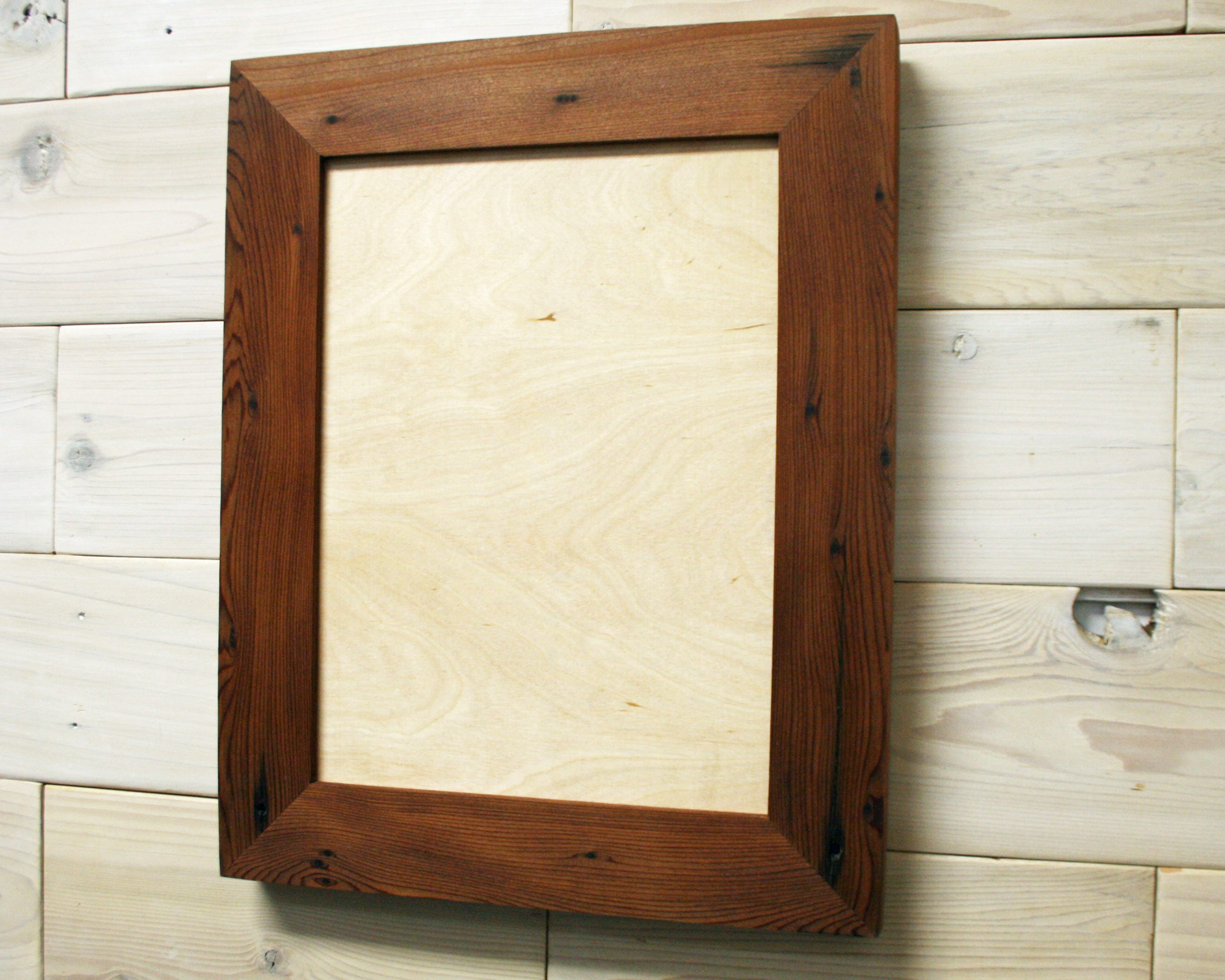 9x12 Reclaimed Redwood [Chunky x 2] Picture Frame (tags: reclaimed ...