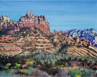 Sedona Landscape Painting- 20x16in Original Oil