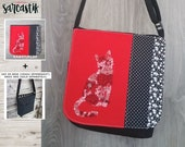 Flower Cats bag flap for ...