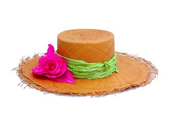 Women's Hat Spring Fashion Spring Accessories Bolero Hat Gaucho Hat Beach Hat Panama Boater Hat
