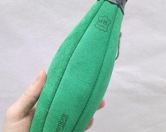 Wine boot H2O suede green//Bota bag H2O Green suede