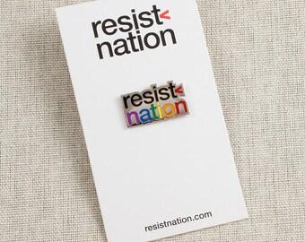 Resist Nation, Pride, Lapel Pin