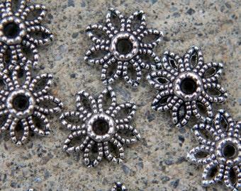 30 ornate bead caps